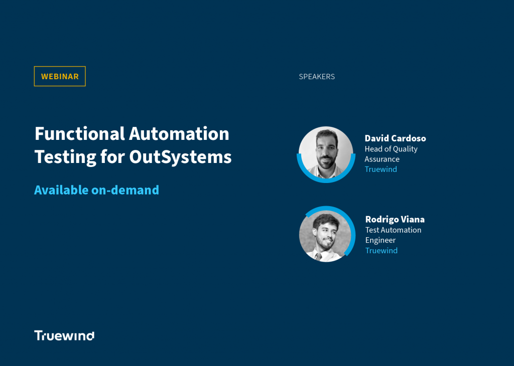 Functional Automation Testing for OutSystems