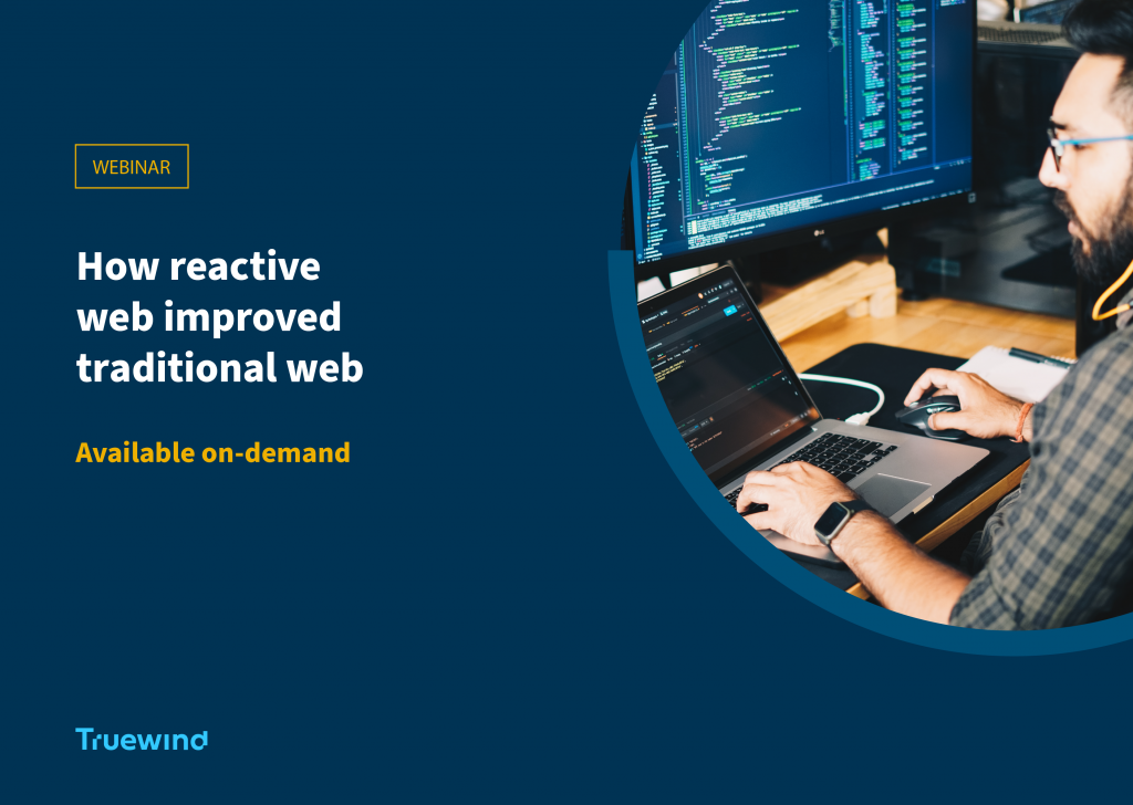 How Reactive Web improved Traditional Web